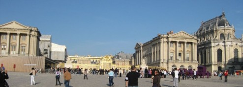 Chateau of Versailles.