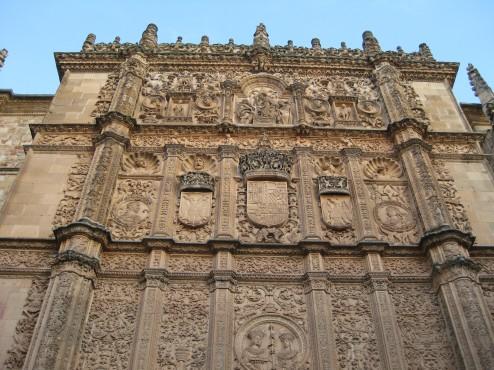 Facade, University of Salamanca.