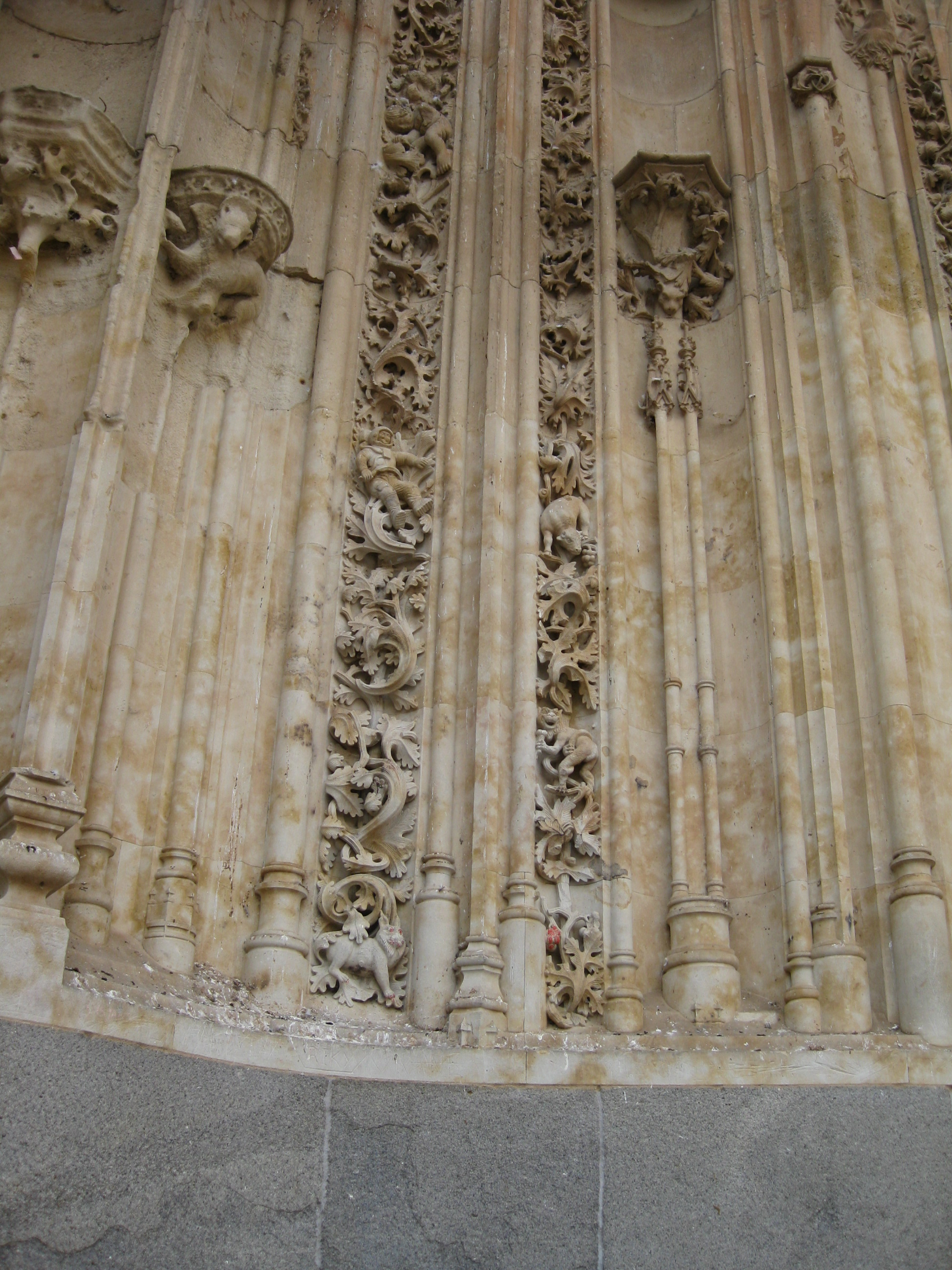 Salamanca Cathedrals, the Astronaut and the Gargoyle.