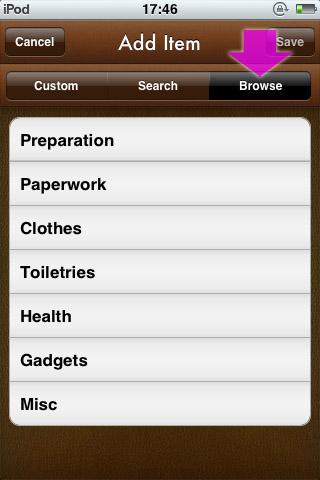 Add item.