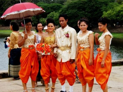 Cambodian wedding. Photo: WorldIsRound.