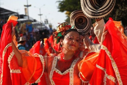 Cumbia costume. Photo: http//colombia.travel