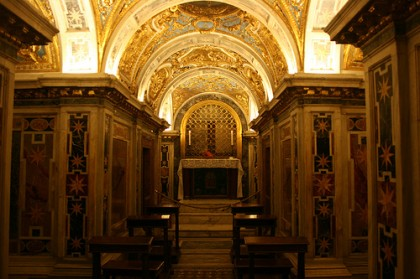 Saint Peters Basilica. Clementine Chapel. Photo: Catholic Eye Candy http://cathcandy.wordpress.com