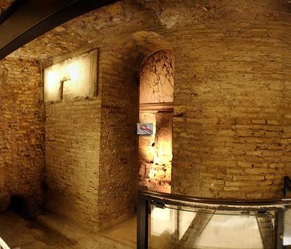 North side wall g, Graffiti Wall, Tomb of St Peter.