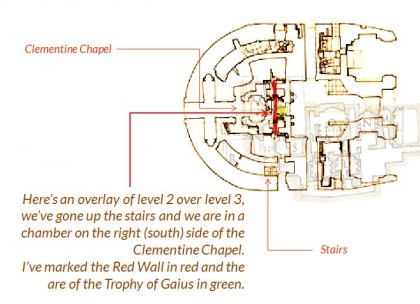 Saint Peters Basilica. floorplan-south-clementine-chapel