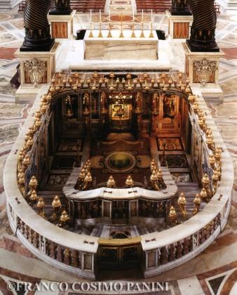 Saint Peter's Confessio.