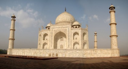 Expert led tours. Taj Mahal, Agra, India.