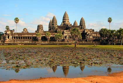Angkor Wat. Photo: Bjørn Christian Tørrissen Wikipedia.