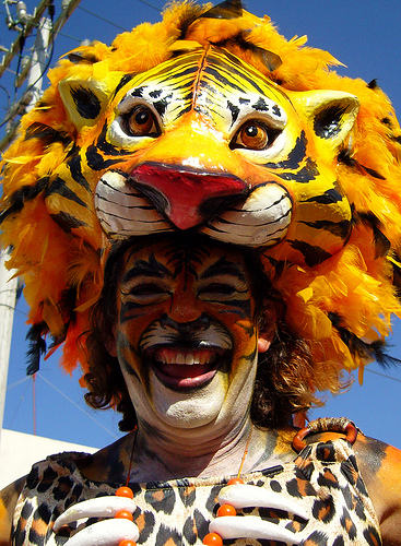 Barranquilla Carnival costume. Photo: Wikipedia.
