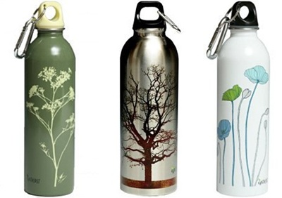 Earthlust water bottles. Photo: Earthlust.