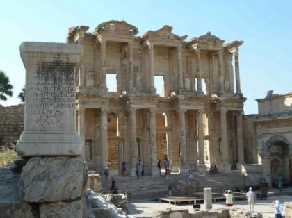Library of Celsus. Photo: Melissa Fernández.