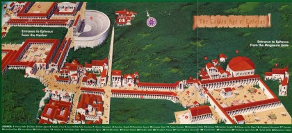 Map with reconstructions, from http://www.dailyistanbultours.com