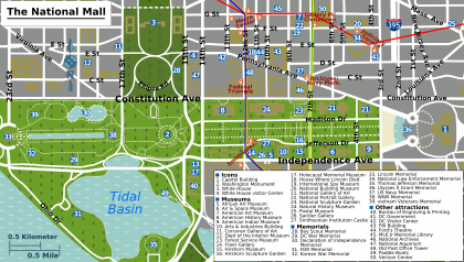 Remarkable image pertaining to printable map of dc