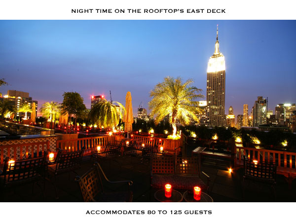 New York restaurants Rooftop, 230th Fifth, New York. Photo: 230th Fifth website.