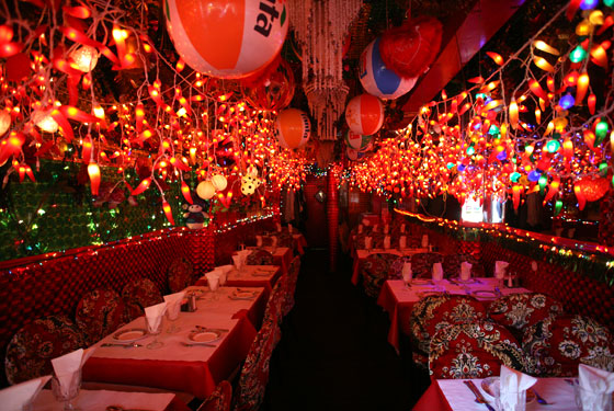 New York restaurants Interior of Panna II, New York.