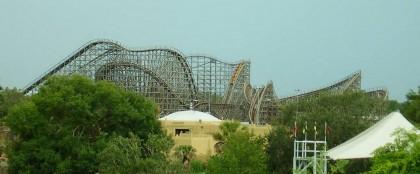 Gwazi, Busch Gardens, Tampa, Florida.