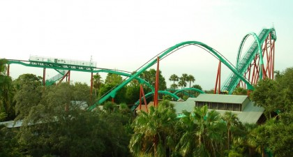 Kumba, Busch Gardens, Tampa, Florida. Photo: Wikipedia.