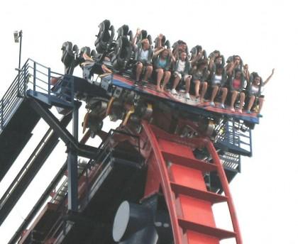 SheiKra, Busch Gardens, Tampa, Florida. Photo: WillMcC