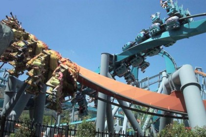 Dragon Challenge, Wizarding World of Harry Potter, Islands of Adventure, Universal Orlando, Florida. Photo: Wikipedia.