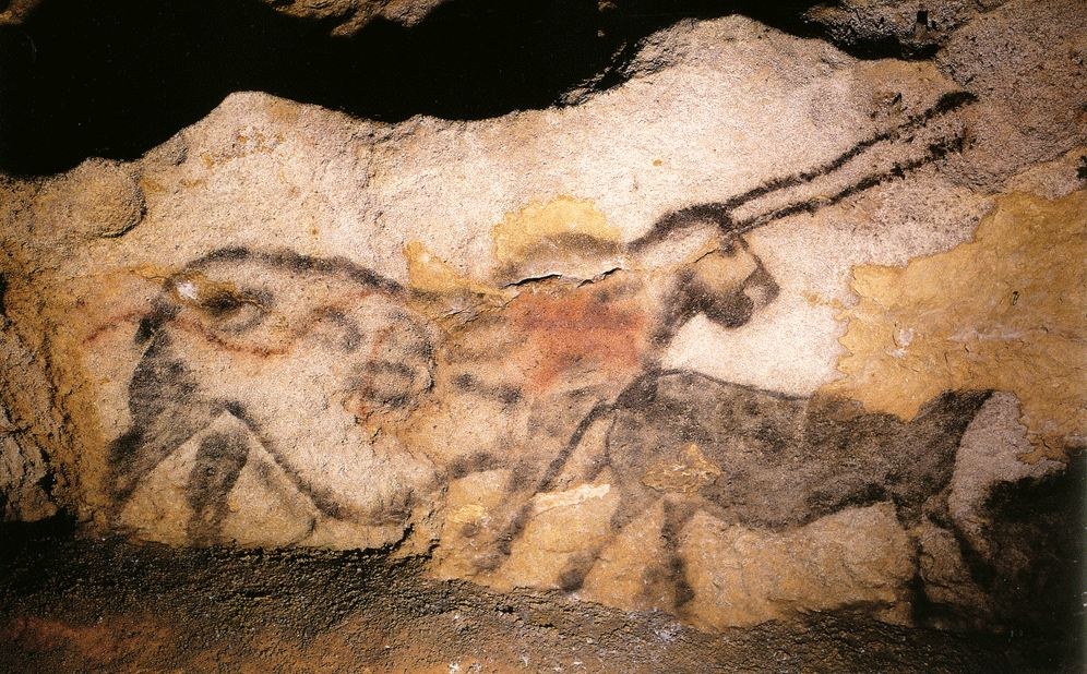 analysis of hall of bulls lascaux france