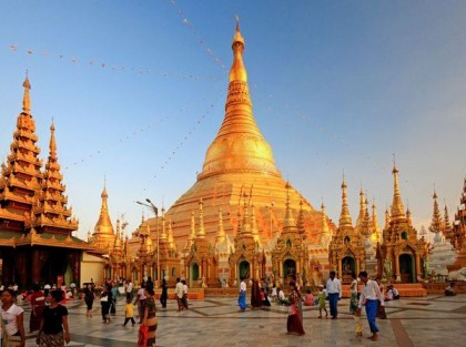 Shwedagon Pagoda, Golden Temple, Burma