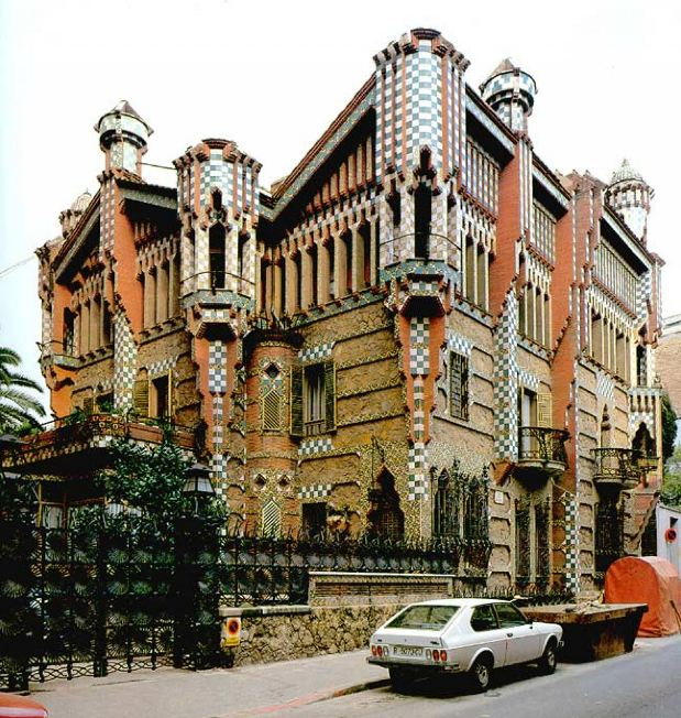 Casa Vicens. Photo: www.spaineurope.net