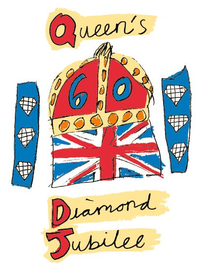 The Diamond Jubilee Emblem. Photo: www.royal.gov.uk