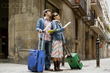 travel fears, getting lost Photo: Corbis