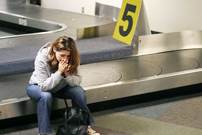 Travel fears. Losing your luggage. Photo: bali-directory.net