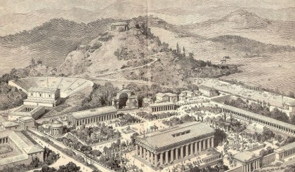 2012 Olympic Games. Ancient Olympia. Photo: Wikipedia.