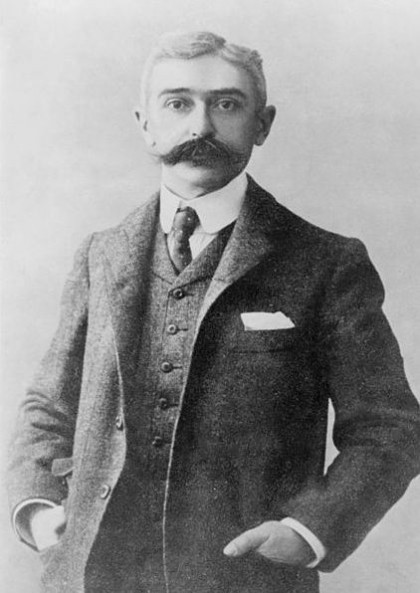 2012 Olympic Games. Baron Pierre de Coubertin, Library of Congress. Photo: Wikipedia.