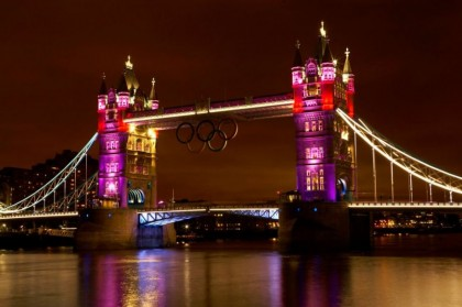 2012 Olympic Games. Tower Bridge ©GLA/LMC 2012 — with Teresa Penkert.