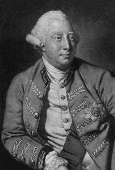 Fourth of July. George III of England. Photo: Wikipedia.