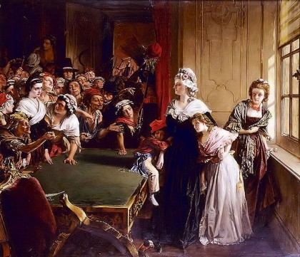 French Revolution in 1789. Marie Antoinette with her children and Madame Élisabeth, when the mob broke into the Tuileries Palace on 20 June 1792. Photo: Wikipedia.