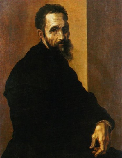Portrait of Michelangelo by Jacopino del Conte (after 1535) at the age of 60. Photo: Wikipedia.