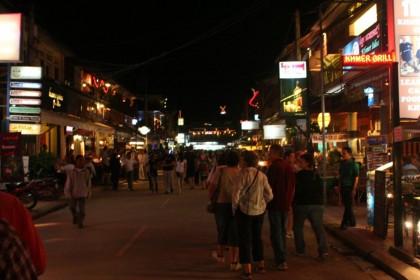 Cultural travel 101. Siem Reap at night, Cambodia.
