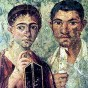 Pompeii. Portrait of the baker Terentius Neo with his wife found on the wall of a Pompeii house. Photo: Wikipedia. http://en.wikipedia.org/wiki/File:Pompeii-couple.jpg