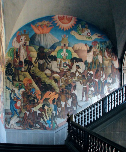 Dead simple mexico city day 3 cultural travel guide for Diego rivera mural 1929