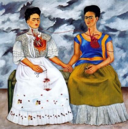 Mexico City. The Two Fridas. Photo: http://dailyvisualinspiration.wordpress.com