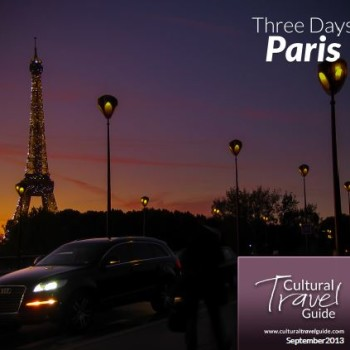 Paris Itinerary 3 Days Cover