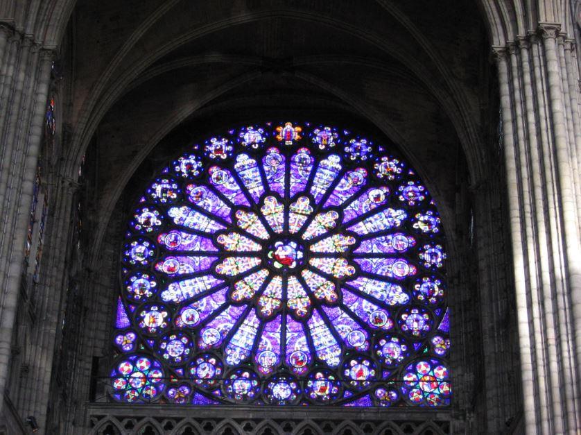 Saint Denis Basilica Cathedral Rosette