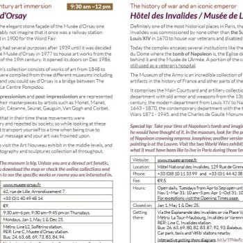Paris Itinerary 3 Days Detail of Day 1