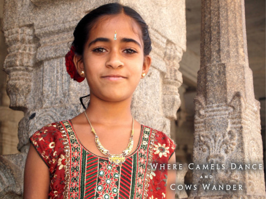 Trip to India. Girl. Photo: Adam Taylor