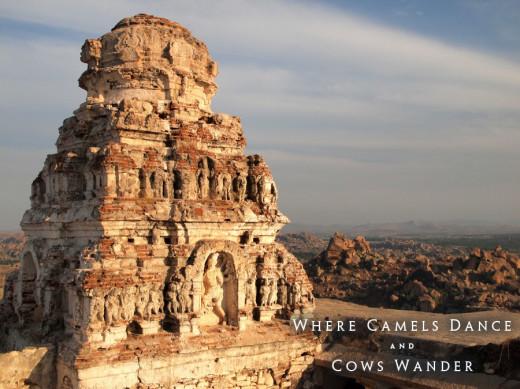 Trip to India. Ruins in Hampi. Photo: Adam Taylor Smith