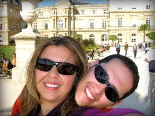 Travel with your spouse. Create a joint travel wishlist. Jardin du Luxembourg.