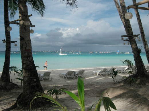 Philippines, Gorgeous beach in Boracay