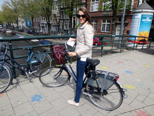 The intriguing city of Amsterdam, bike culture. Photo: Elsa Thomasma.